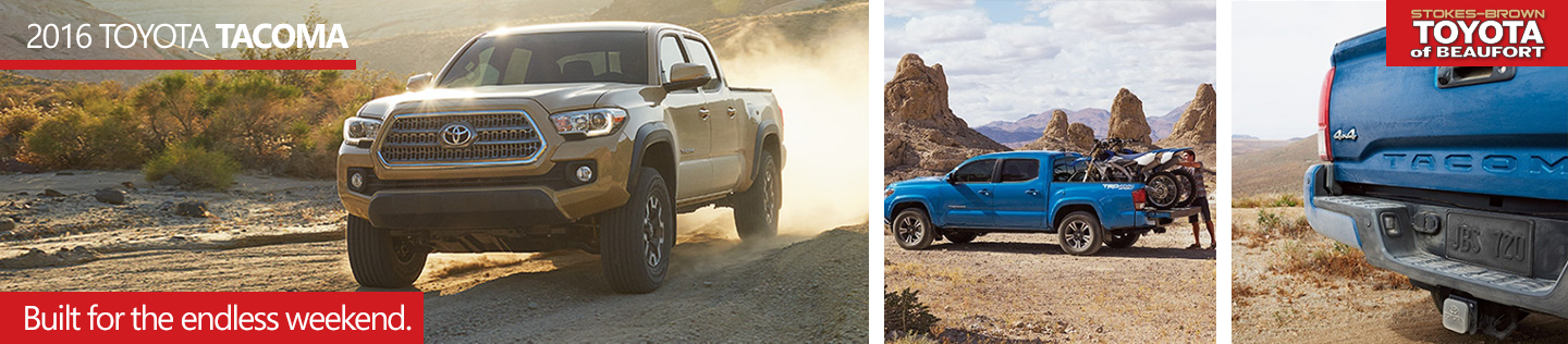 2016 Toyota Tacoma Research Page