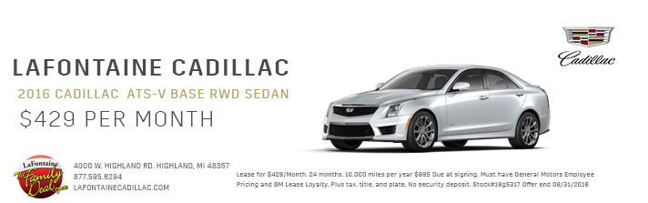 lafontaine cadillac lease specials. Cars Review. Best American Auto & Cars Review