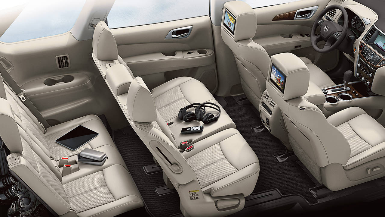 2017 Pathfinder 7-Passenger Capacity