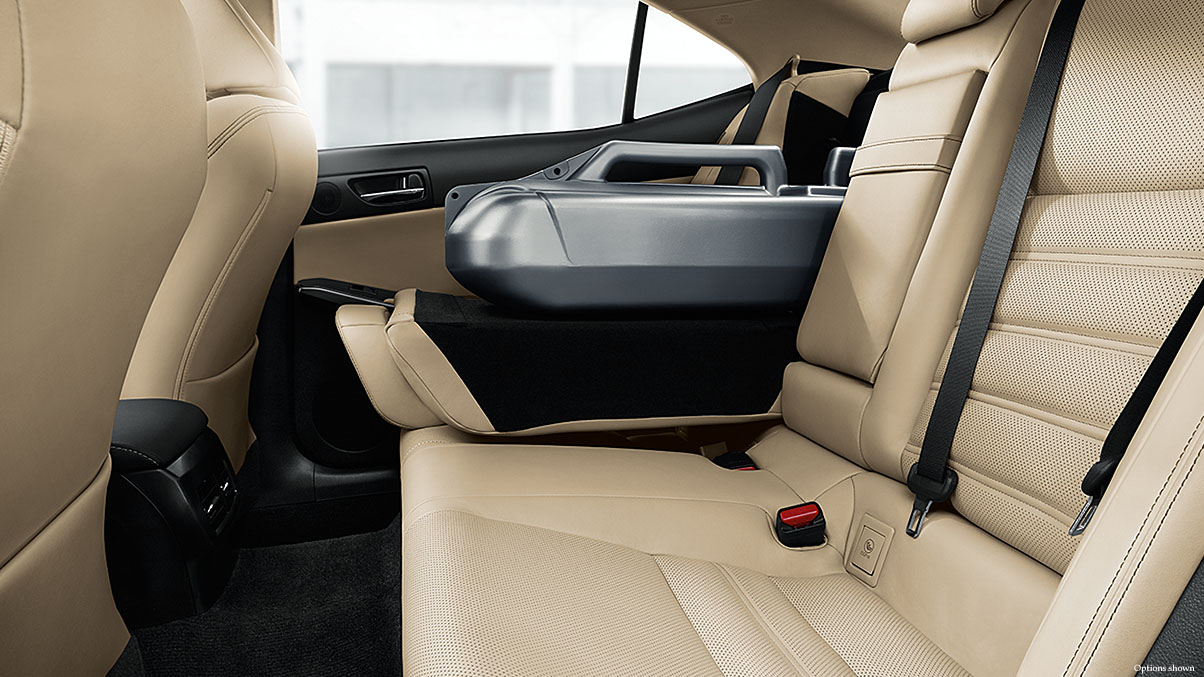 The 2017 IS 300 Boasts a Roomy Backseat!