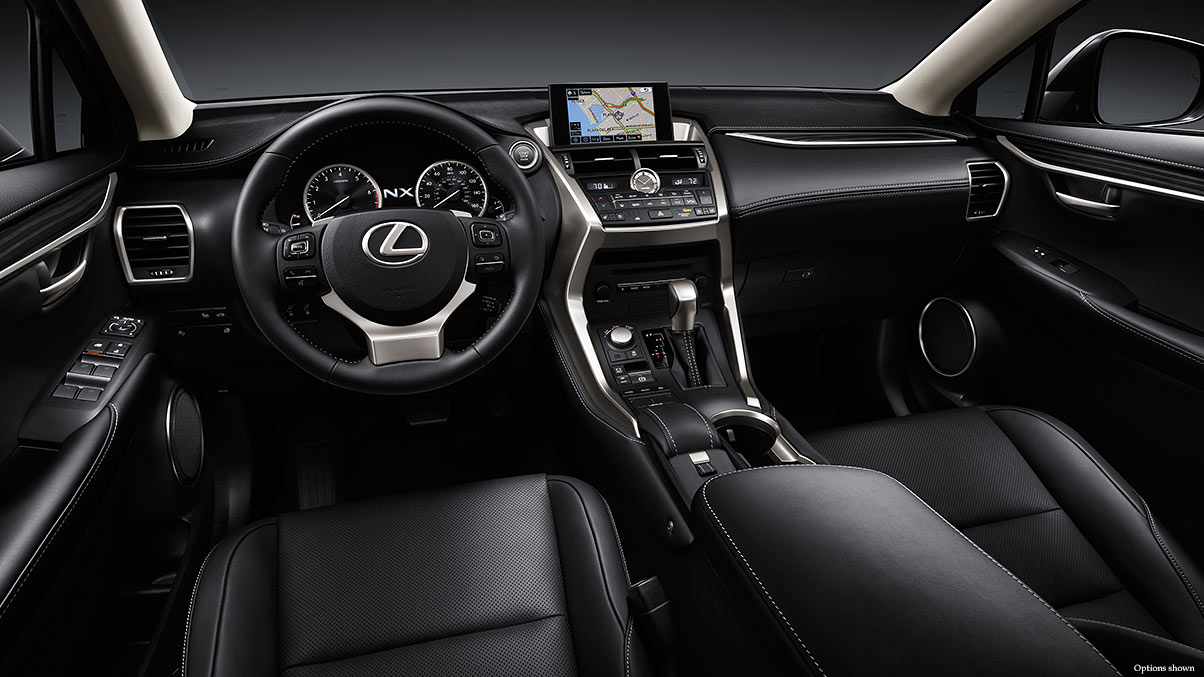 The 2016 NX 200t is Well-Equipped!
