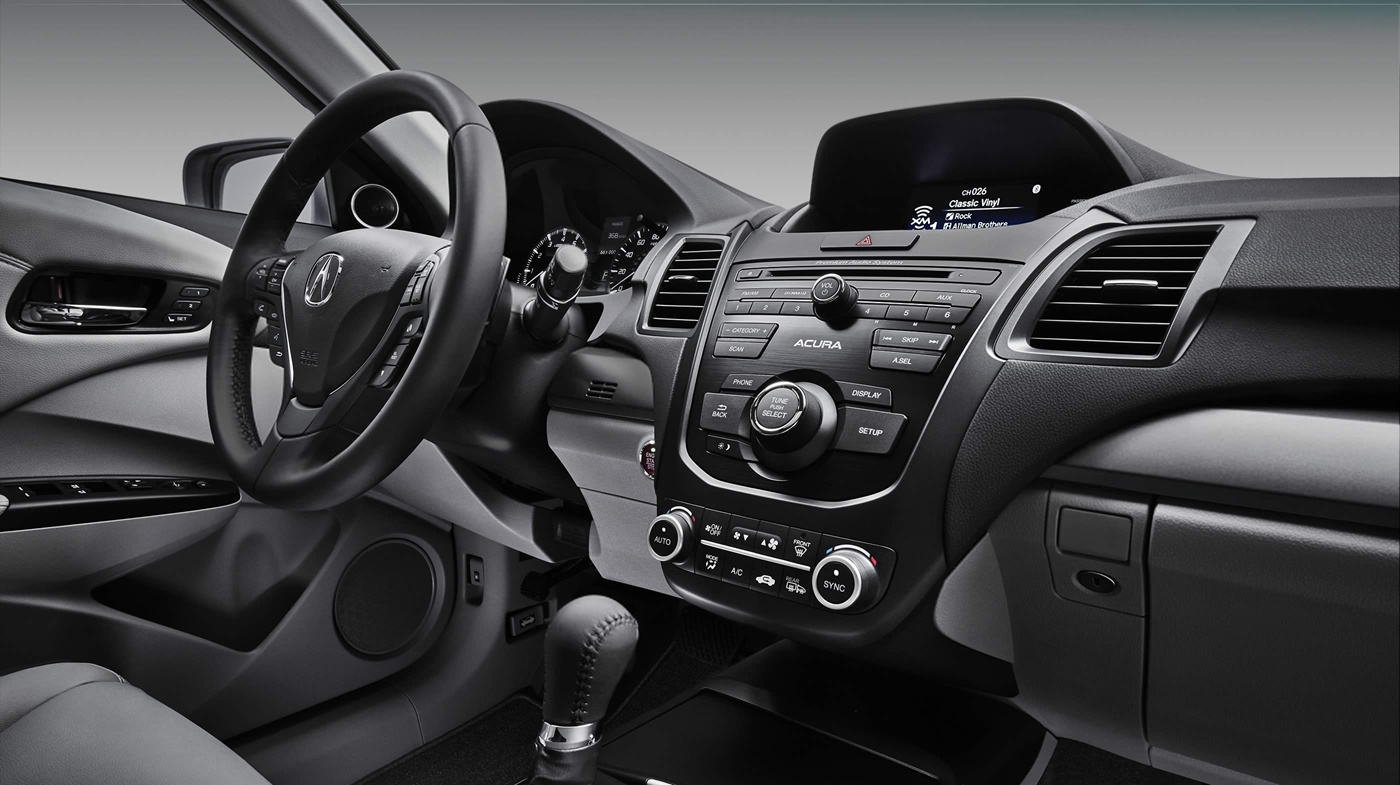 The Well-Equipped Dash of the 2017 RDX!
