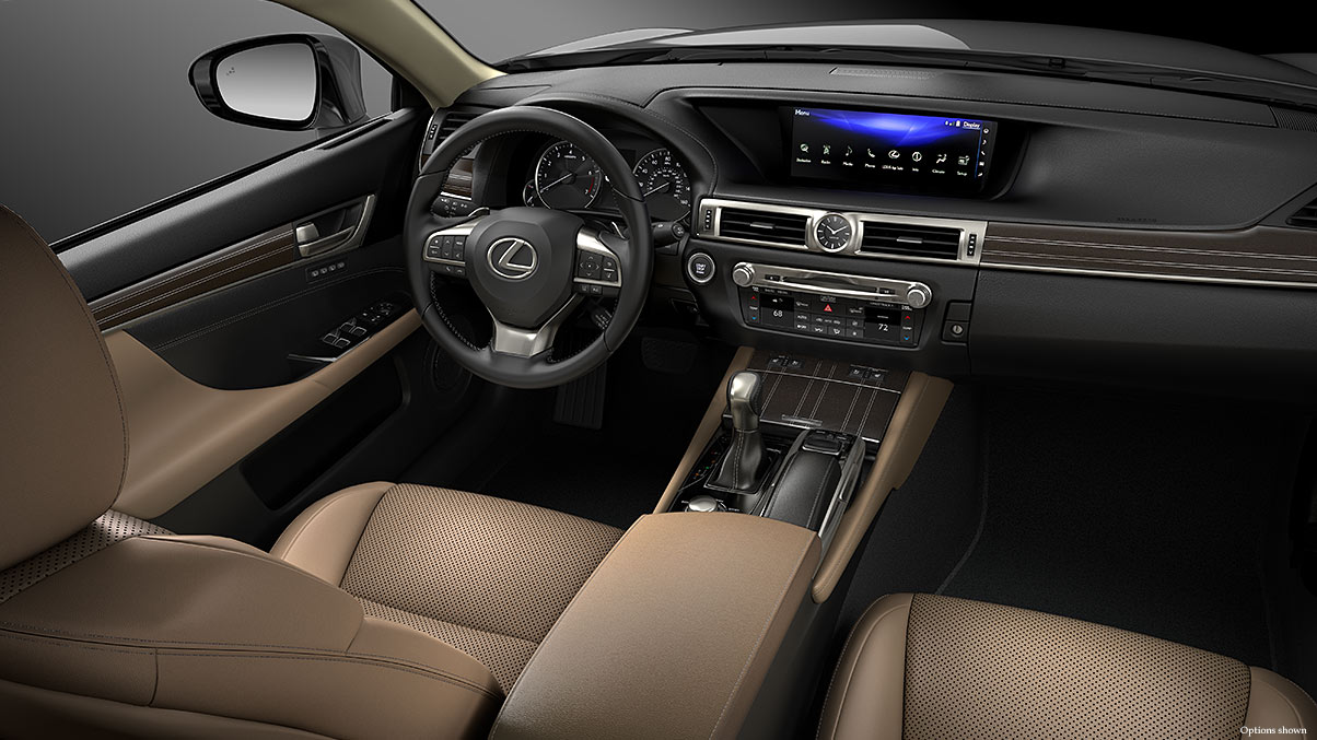 The Well-Equipped Dash of the 2017 GS 350!