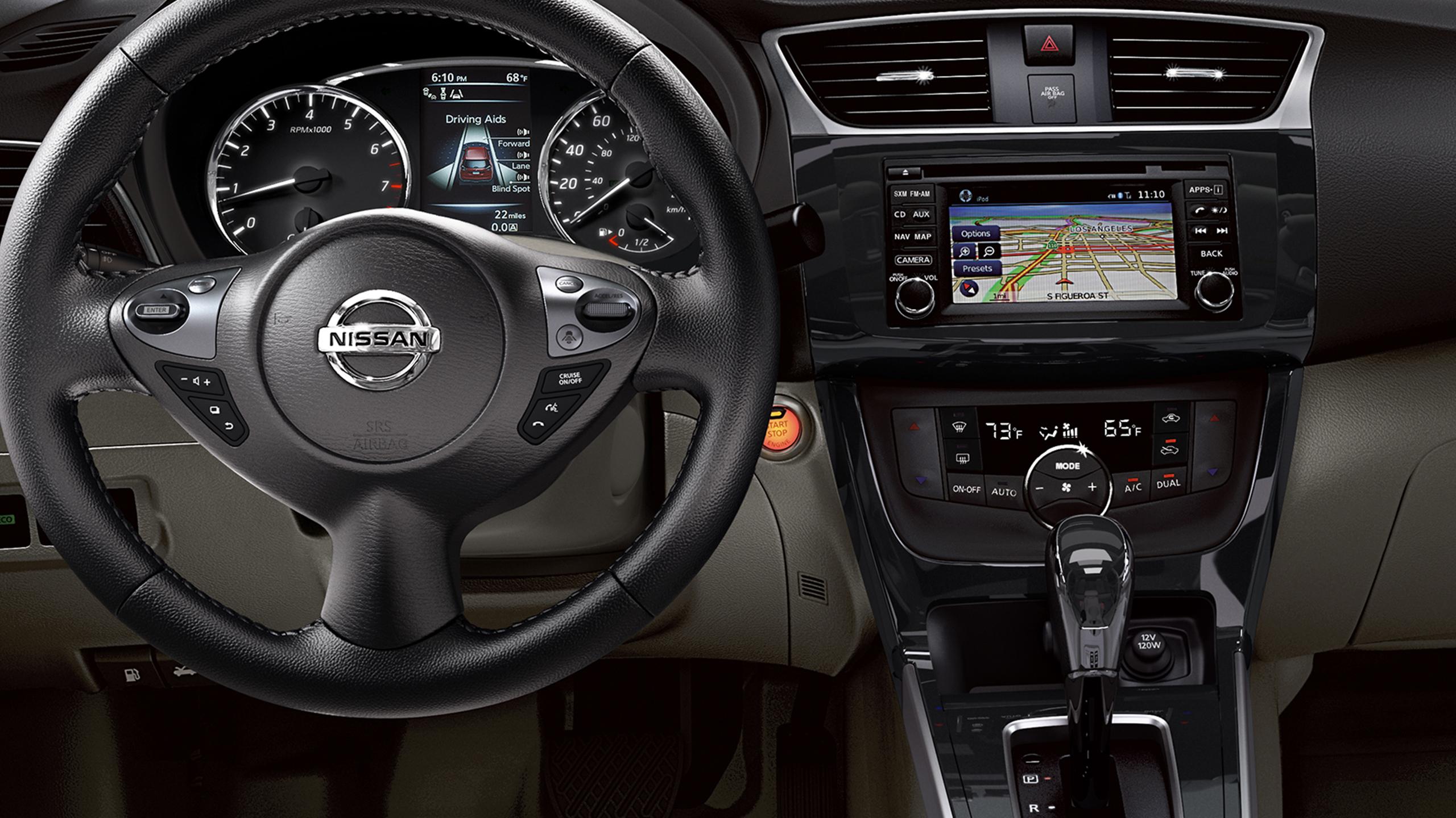 Shown Below: 2017 Nissan Sentra SR. Exterior. Interior