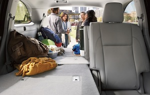 Cargo space in the new Toyota Highlander