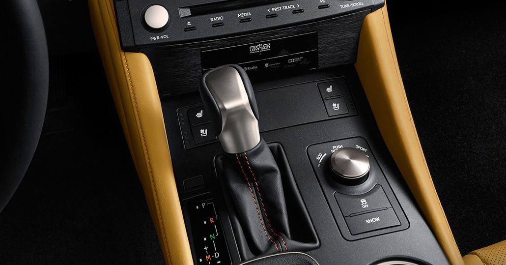 Lexus RC 300 8-Speed Automatic Transmission