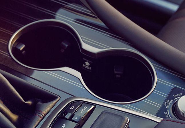 2017 RX 350 Self-gripping Cup Holders