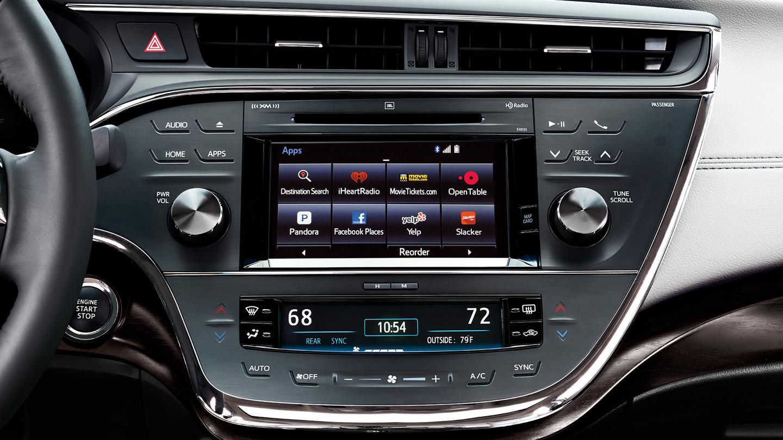 Toyota EntuneTM App Suite