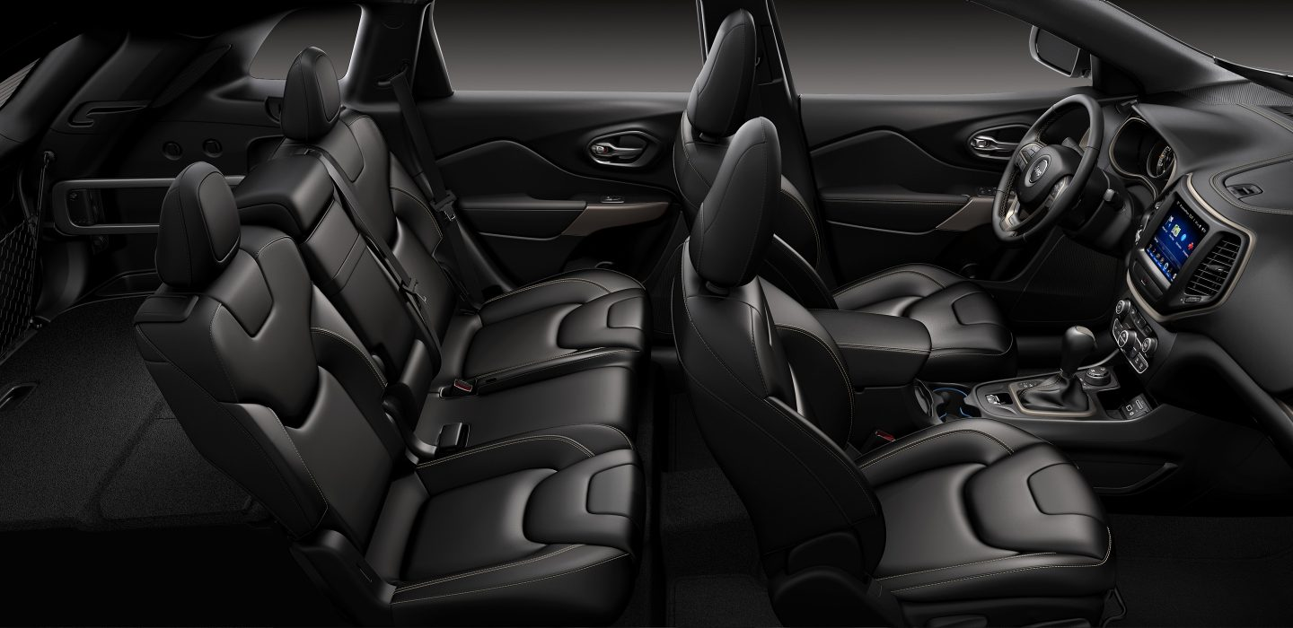 The Spacious Interior of the 2017 Cherokee