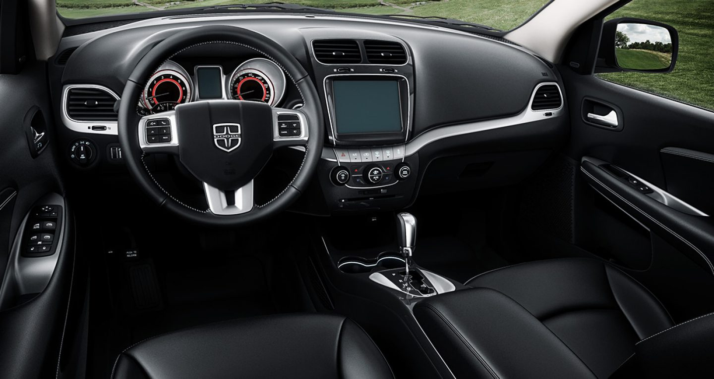 The Interior of the Dodge Journey