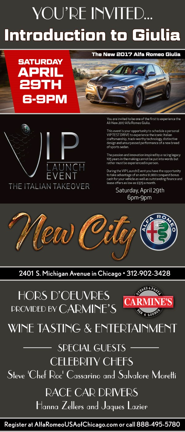 new car launches eventsEvents  New City Alfa Romeo Fiat Of Chicago