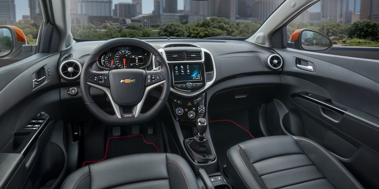 2017 Chevy Sonic Interior with Optional Features