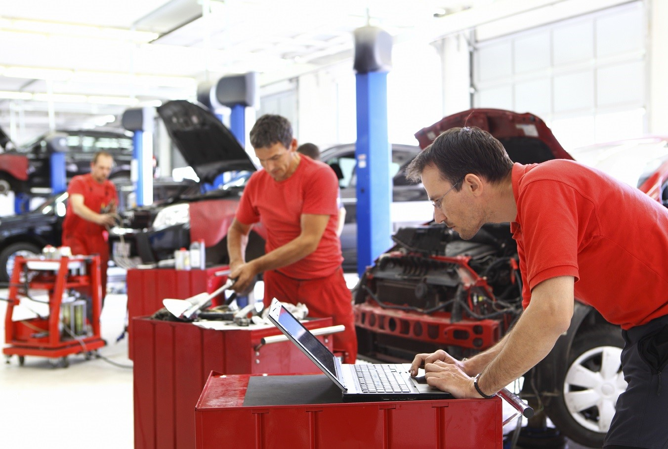 Our Service Department Will Get You Back on the Road Fast!