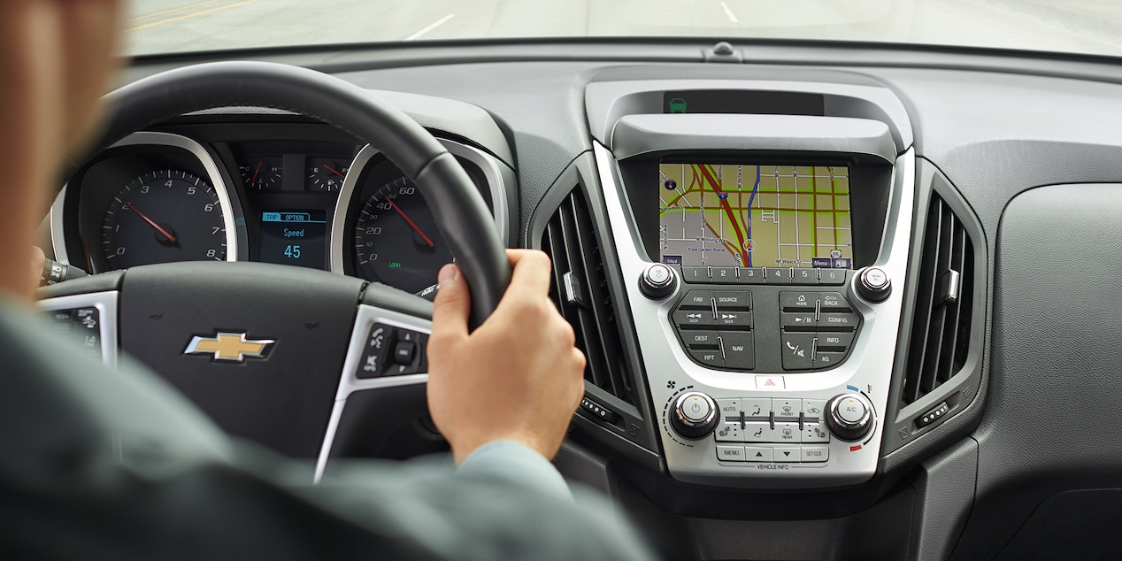 Chevy Equinox Center Stack Infotainment System