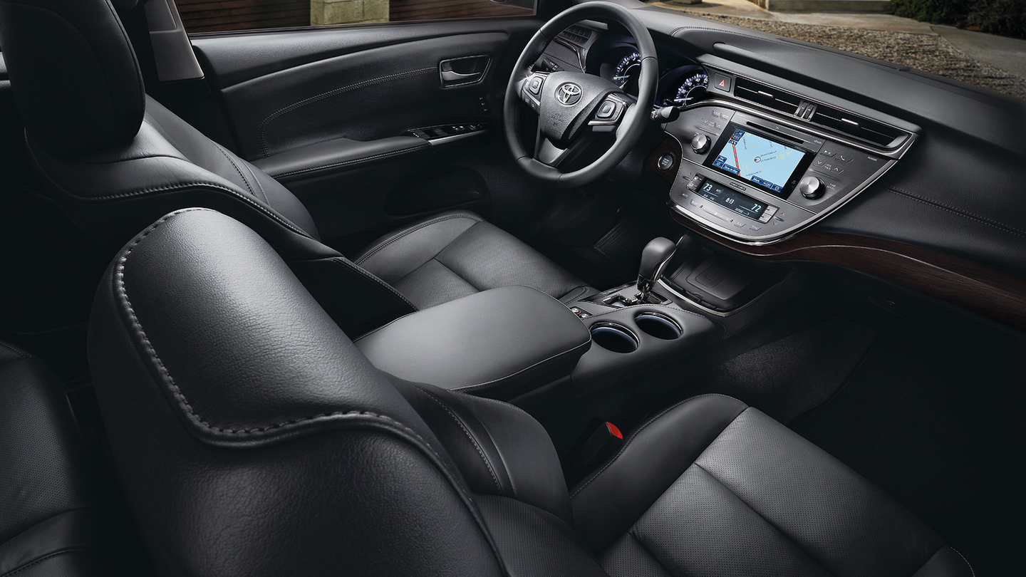 Enjoy the Luxurious Interior!