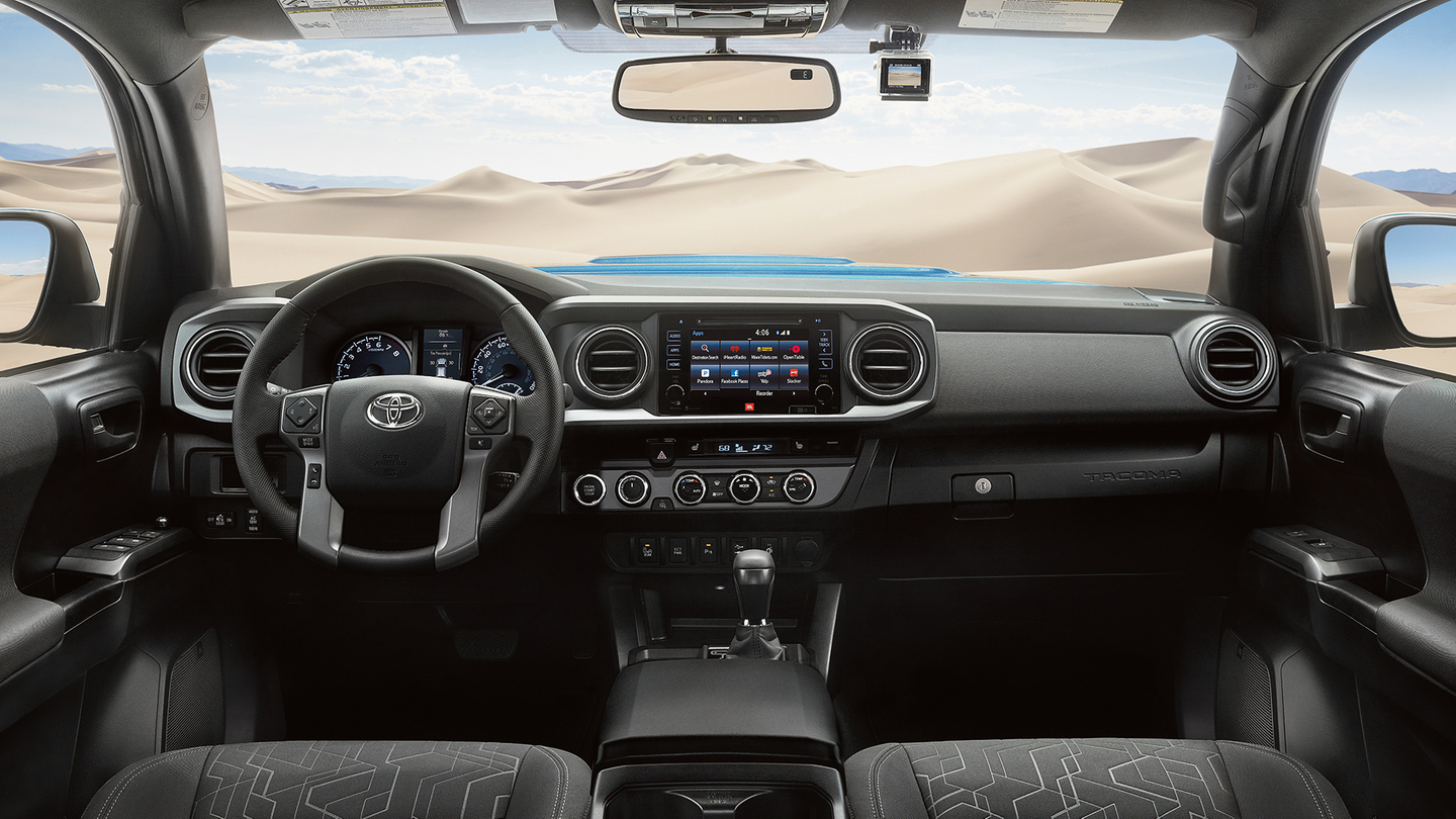 Cabin of the 2017 Tacoma