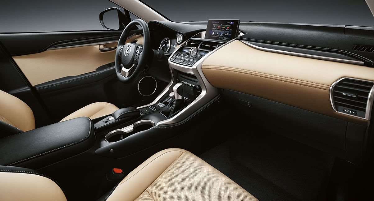 Luxurious Interior Features of the NX 200t!