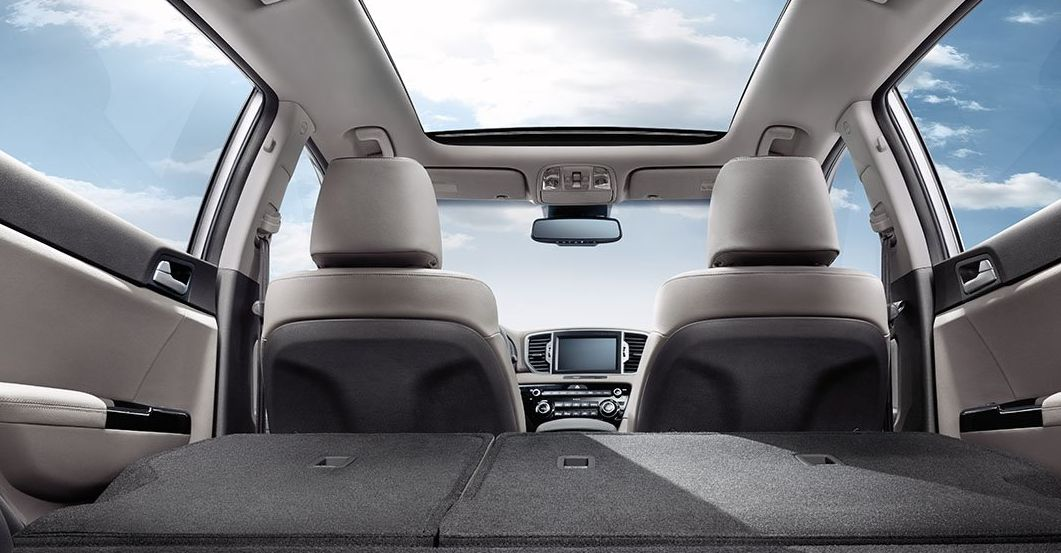 Cargo Space in the Kia Sportage