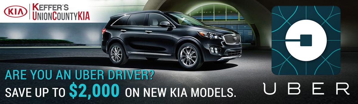 Kia and Uber Incentive in Charlotte NC
