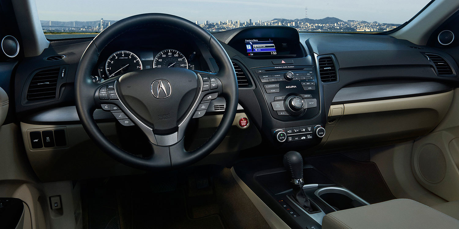 The Well-Equipped Dash of the 2017 Acura RDX.