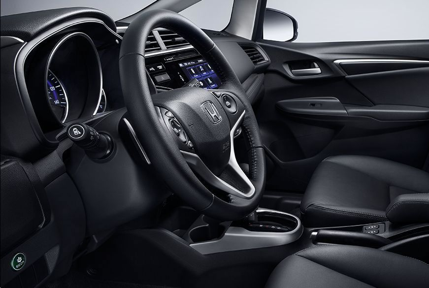 Cockpit of the 2017 Honda Fit